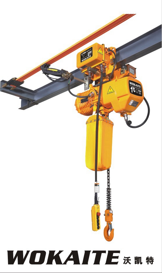 WOKAITE New type electric chian hoist with 1TON