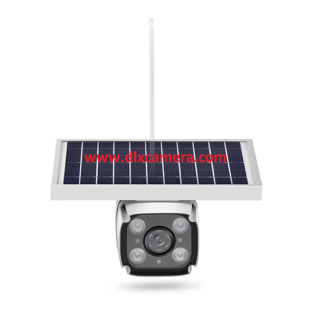 Waterproof 2Mp 1080P 4G LTE Wireless Solar powered HMD camera two ways audio WiFi IR bullet camera with SD slot