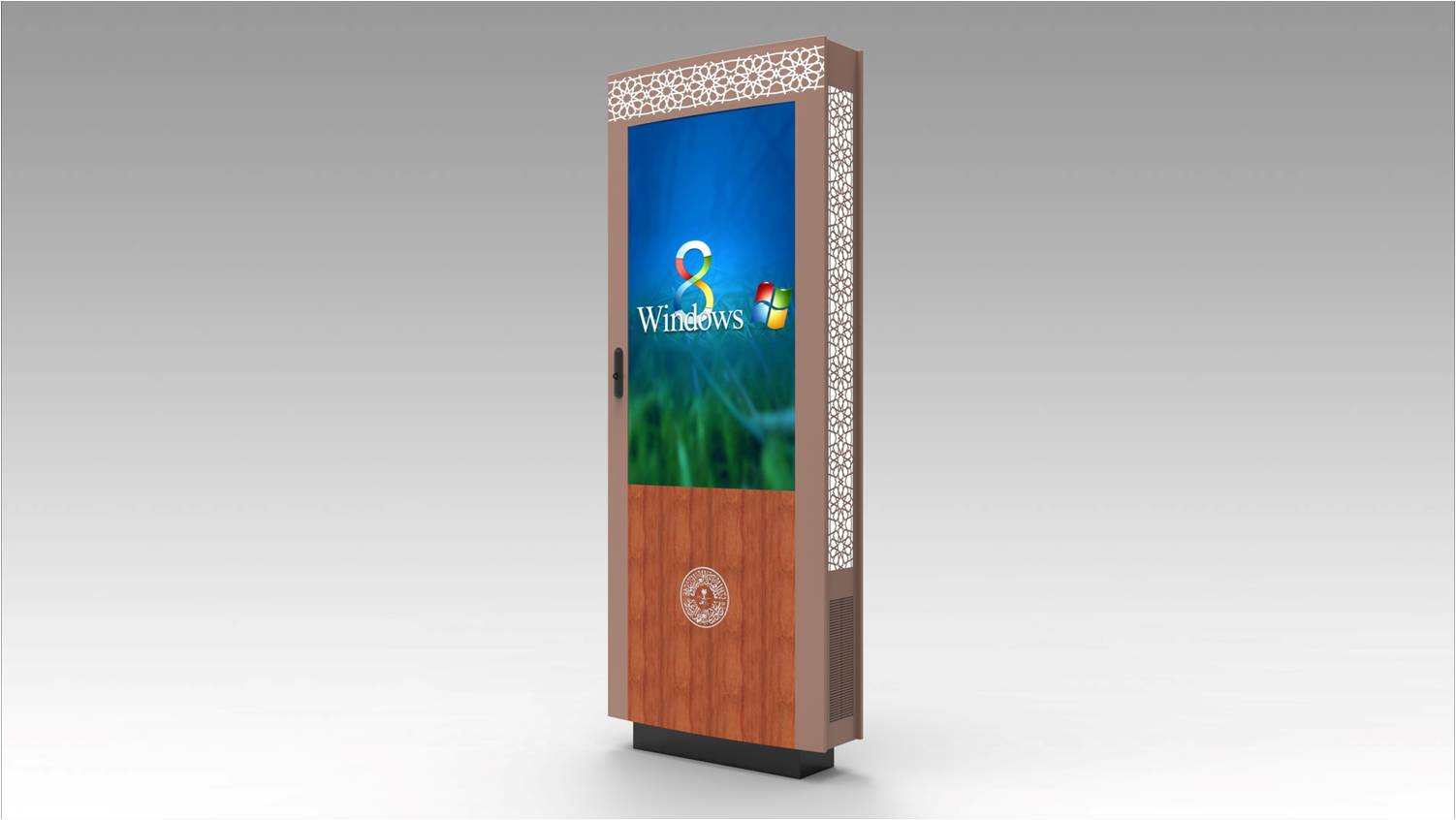 55 waterproof outdoor media player screen Boards Advertising Systems