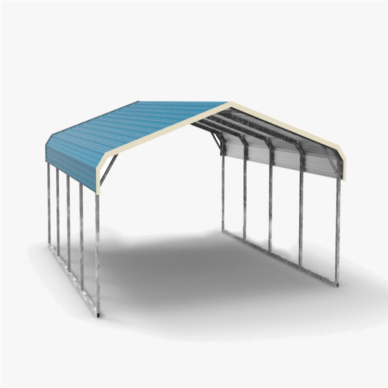 Sanhe easy assemble galvanized metal carport steel carport