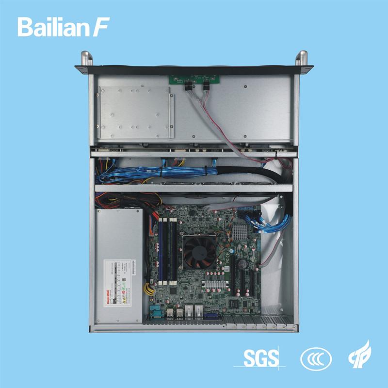 2u 8 Bay Rack Server Customized Server Xeon E5 for Storage IPTV Monitoring Hotel Movie