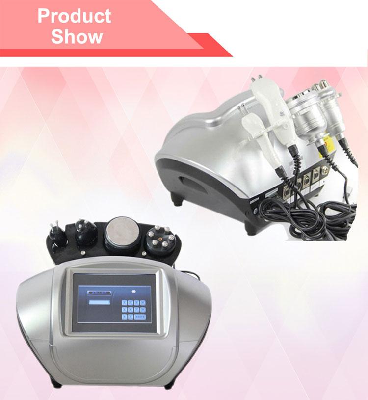 Body slimming face wrinkle removal RF ultrasonic machine RU6