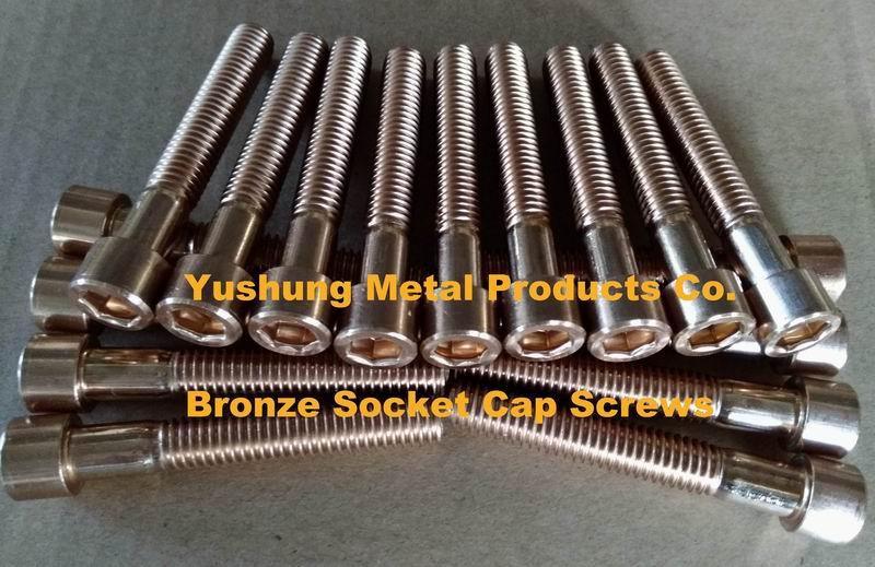 Cu5 Silicon Bronze Bolts Nuts