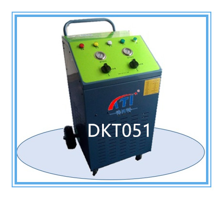 DKT051 2HP R134AR22R407CR410A Oil Less Freon Refrigerant Recovery Recycling Unit for Cooling System