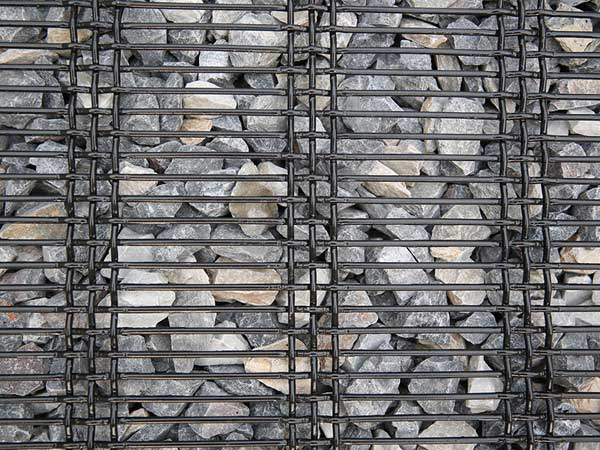 Slot Woven Crimped Screen Wire Mesh