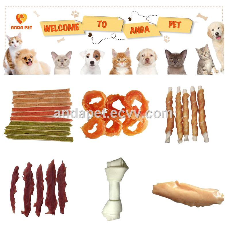 100 natural chicken jerky dog treats in pet food