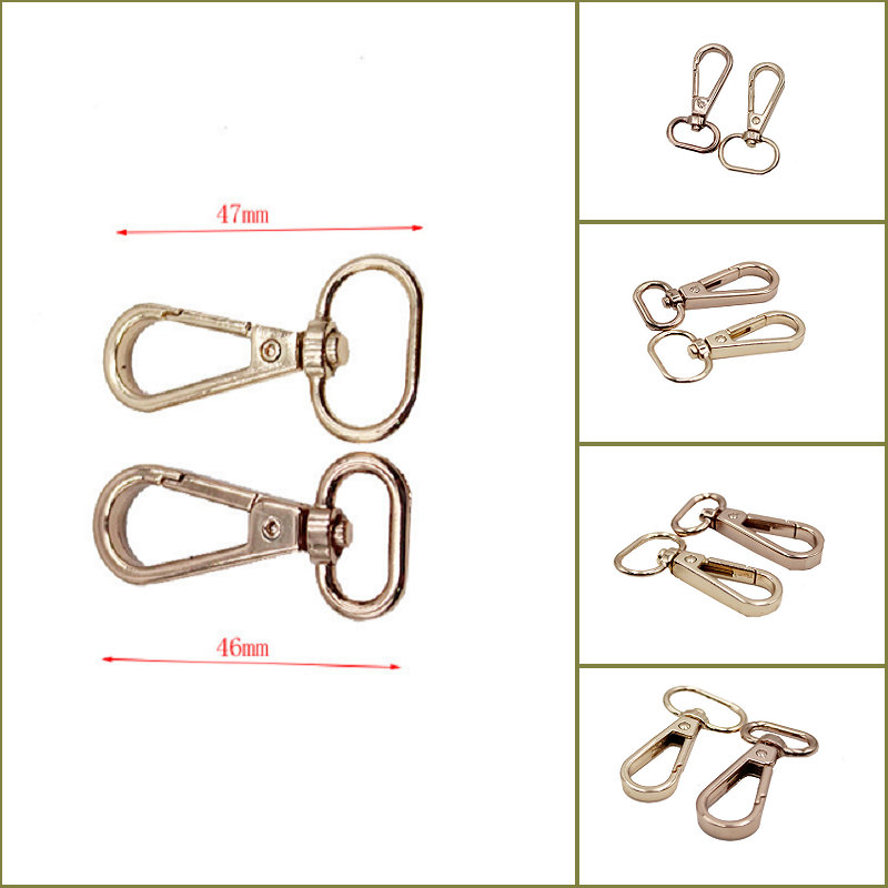 Custom Different Size Spring Lanyard Snap Hook Dog Metal Snap Hook