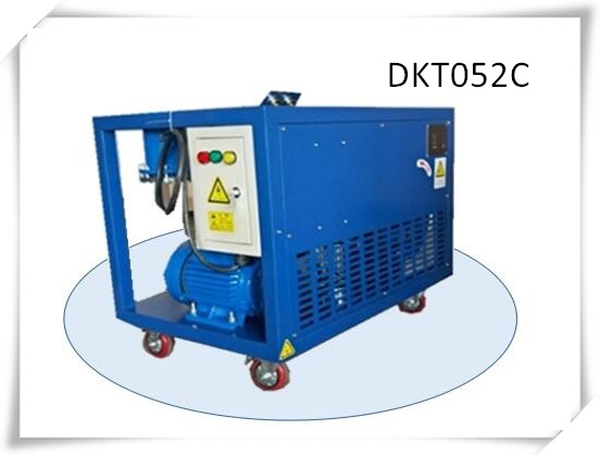 Dkt052c 4HP OilFree Low Pressure Refrigerant Freon Recovery Recycling Reclaim Recharge Machine