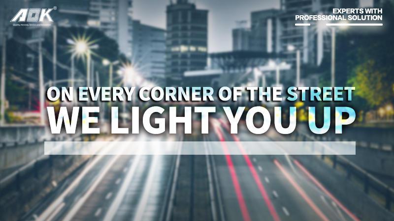 Outdoor IP66 Waterproof 120W LED Street LampLED Street Light