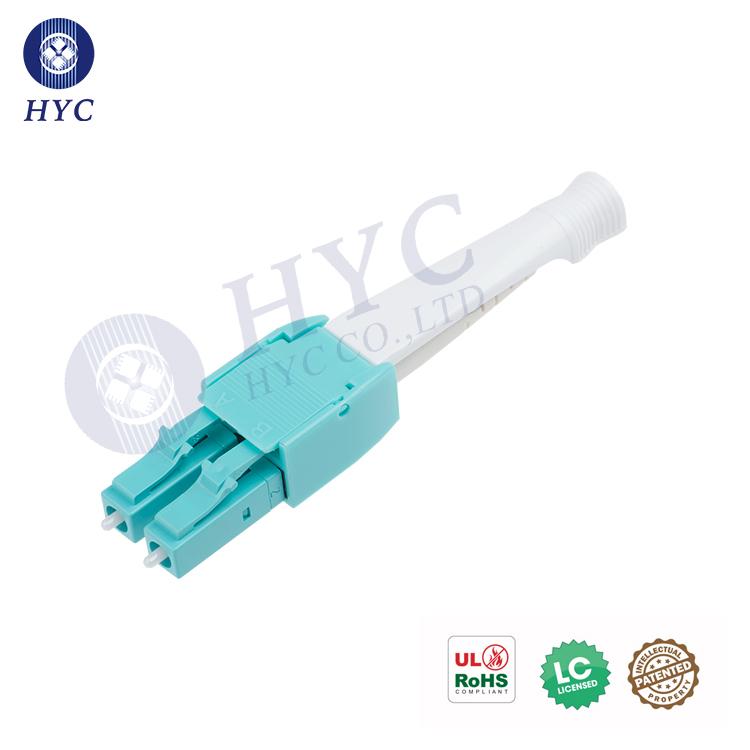 LC PushPull Uniboot Connector LC Optic Fiber Connector Singlemode Multimode HYC