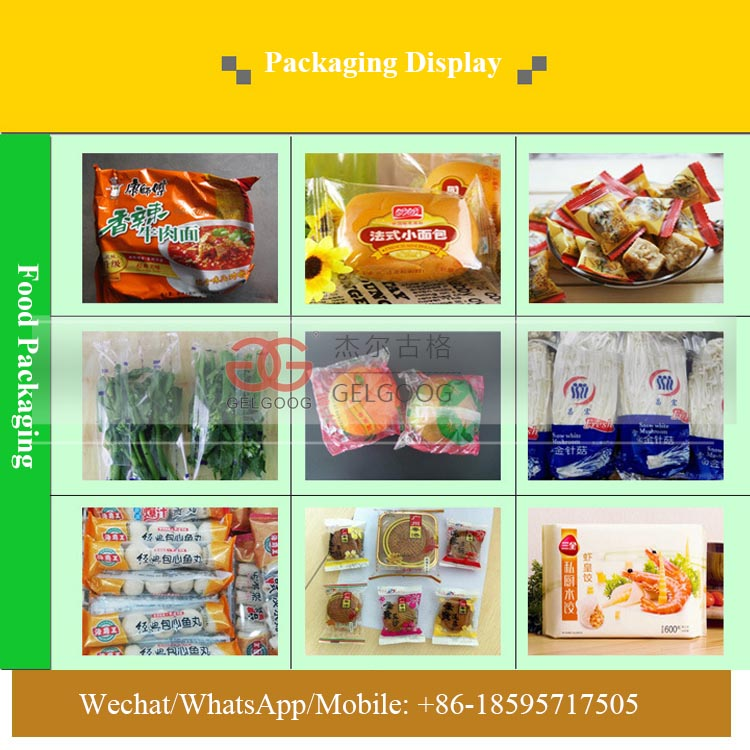 Automatic Horizontal Biscuit Packaging Machine Instant Noodle Packing Machine For Sale