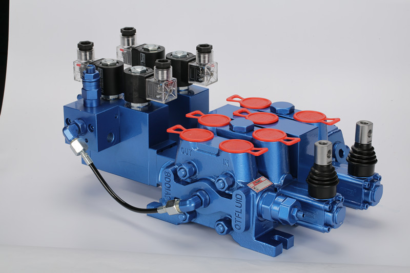 Hydraulic Sectional Control Valve DCV100