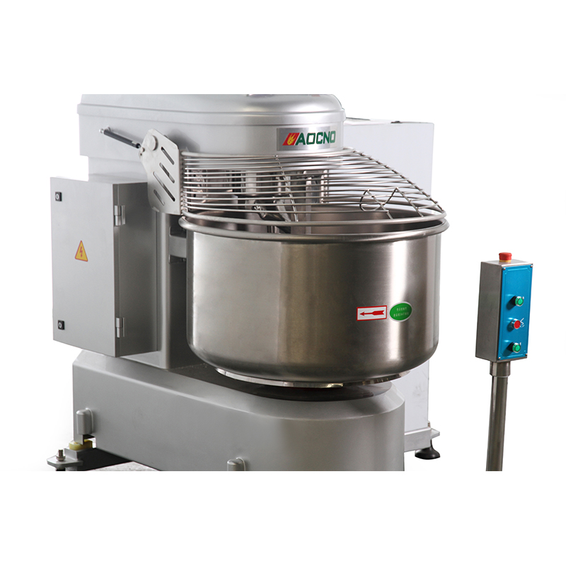 Automatic tilting mixer for hamburgerbreadtoastcakehot dog production line