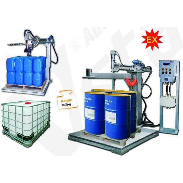 IBC Drum Coating Liquid Filling Machine