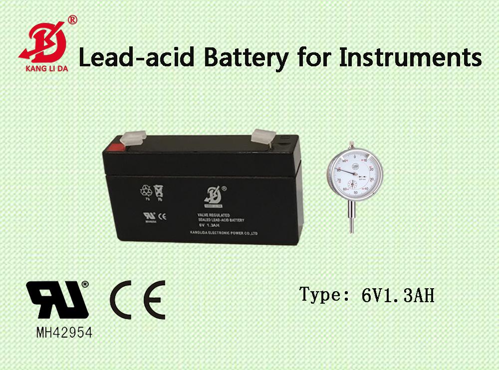 6v13ah kanglida free maintenance lead acid battery for alarm