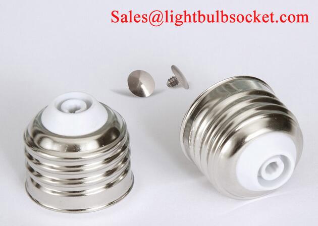 E27 lamp cap freesoldering for LED bulbs