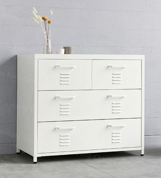 Home Furniture Four Drawers Metal Storage Cabinet
