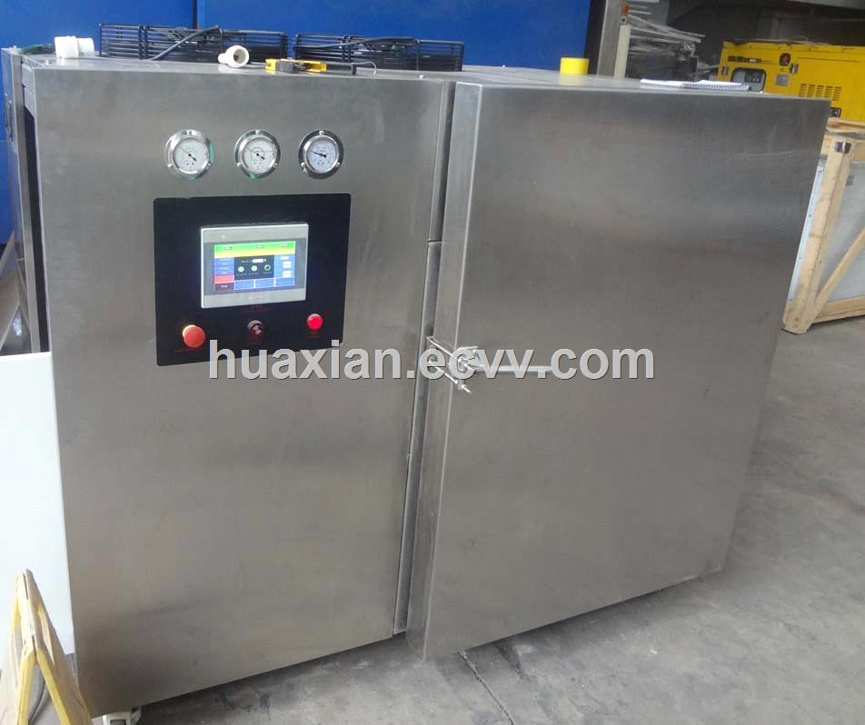 HUAXIAN restaurant food vegetable rice breads soup precooling refrigeration vacuum cooling machine