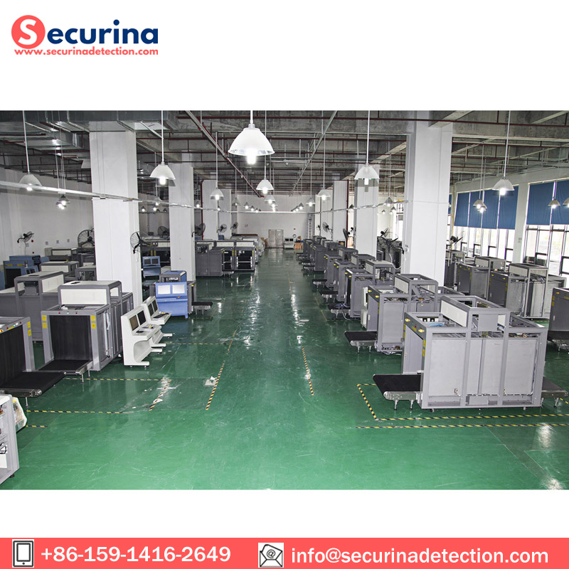 100100cm Tunnel Size X Ray Baggage Scanner for AirportStation Security Inspection MachineSA100100