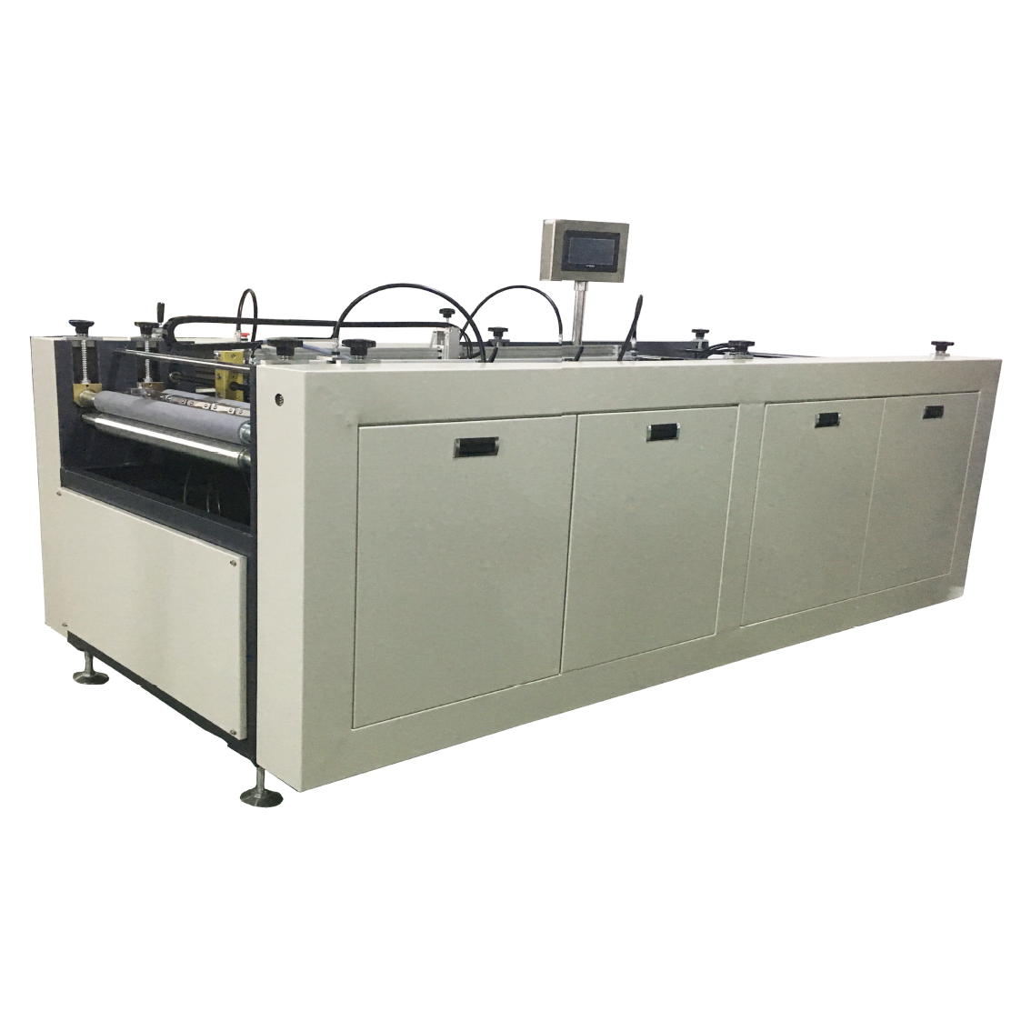 Foursided taping machine wrapping and coating equipment