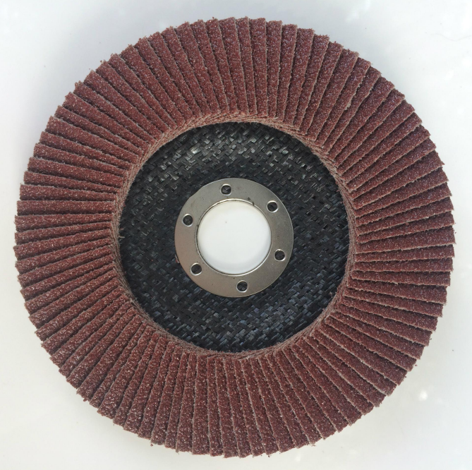 Abrasive flap disc factory manufactured with all kinds of grains for metal and stainless steel grinding