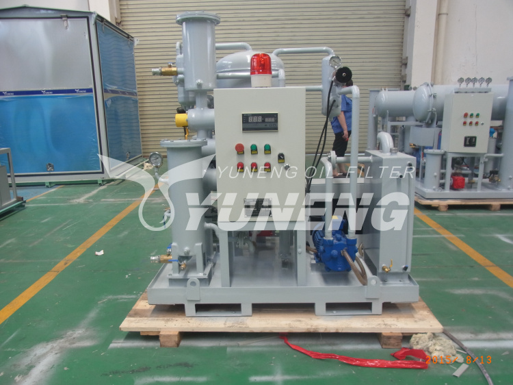 Compressor Oil Purifying Machine with Water Content Less Than 50PPM