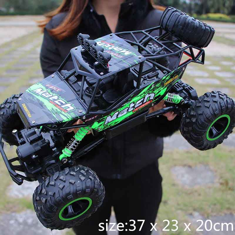 Remote Control Car 4WD Climbing Double Motors Drive Electric