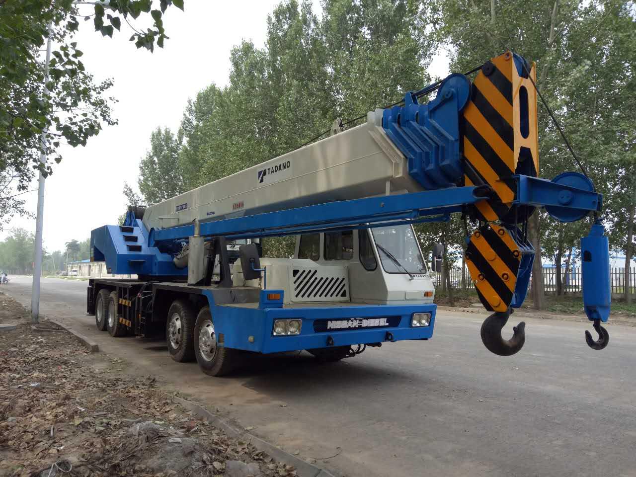 Tadano Crane 65 ton tadano crane GT650EX used truck crane