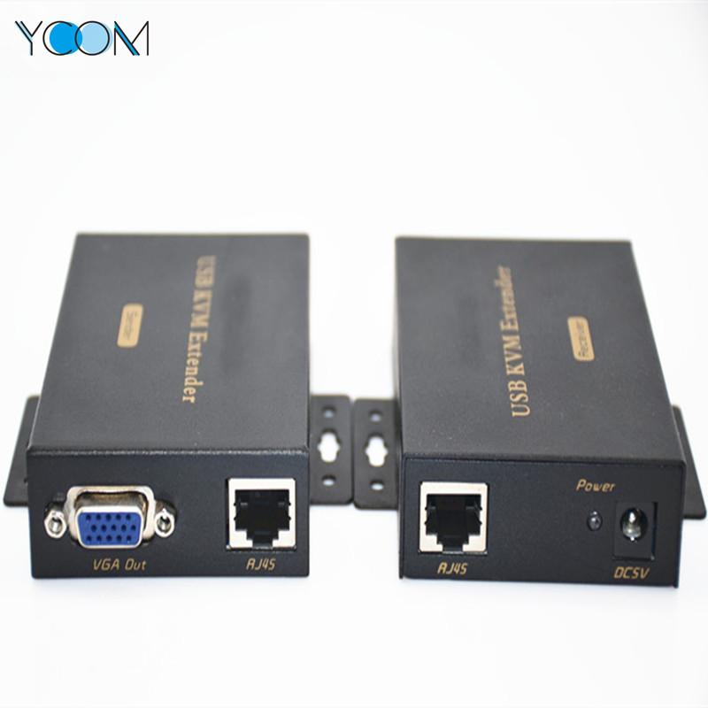 VGA USB KVM Extender Over Single Cat5e6