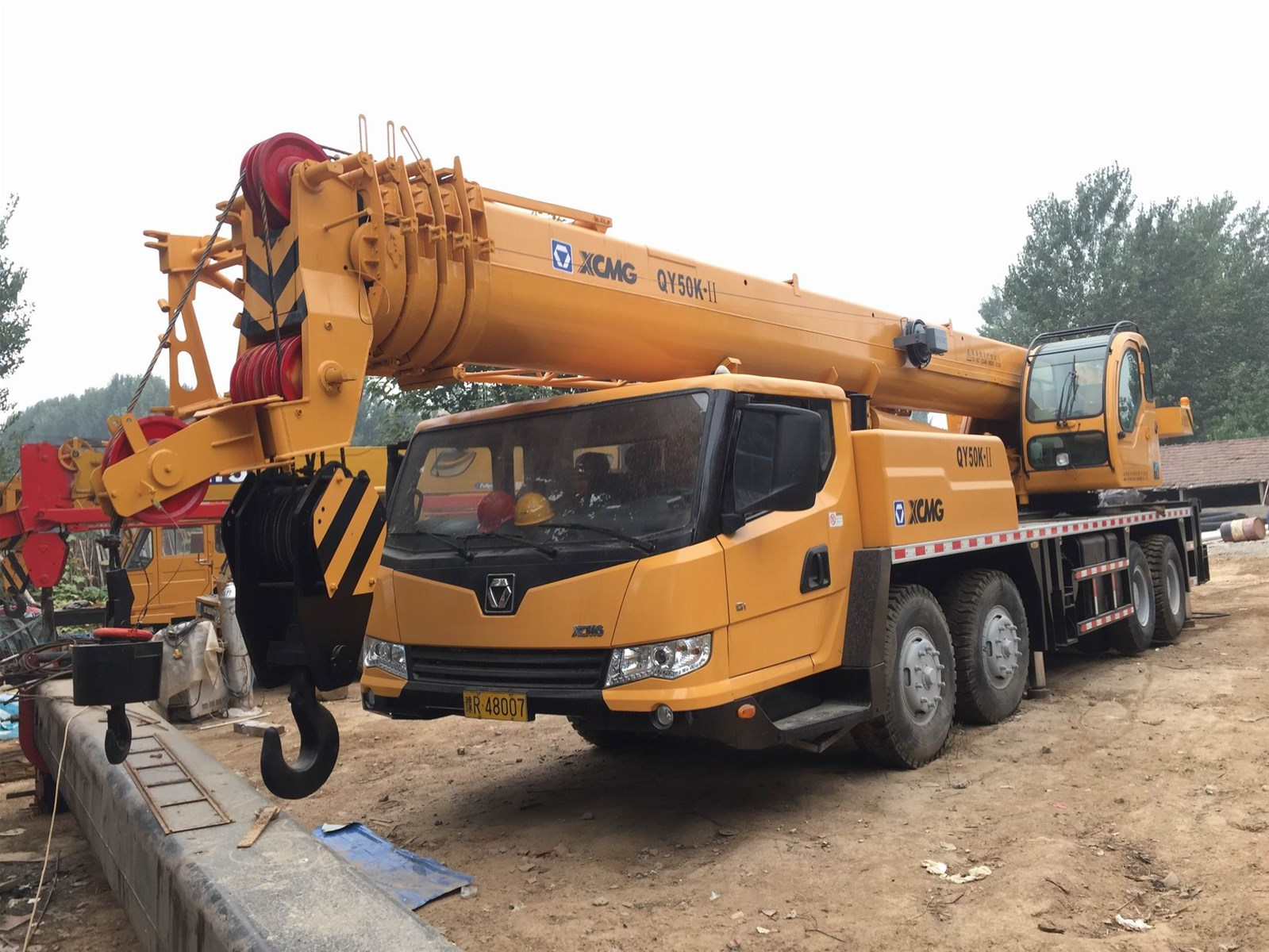 xcmg 50 ton qy50k mobile truck crane