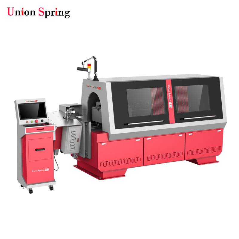 Union Spring 3D CNC Wire Bending Machine