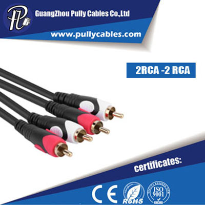 2RCA to 2RCA Cable FORM PULLY CABLE MANUFACTURER