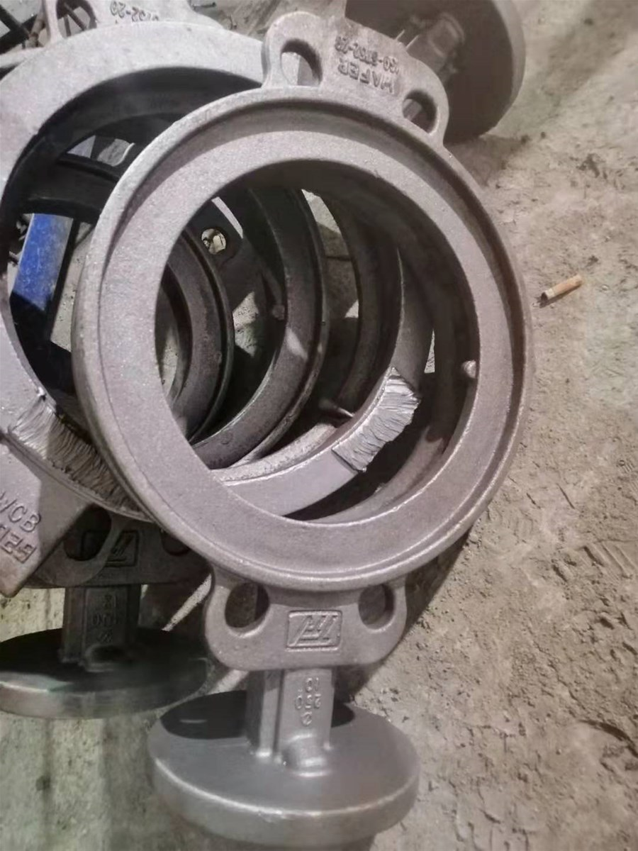 metal part casting customized stainless steel for cutting machine in China