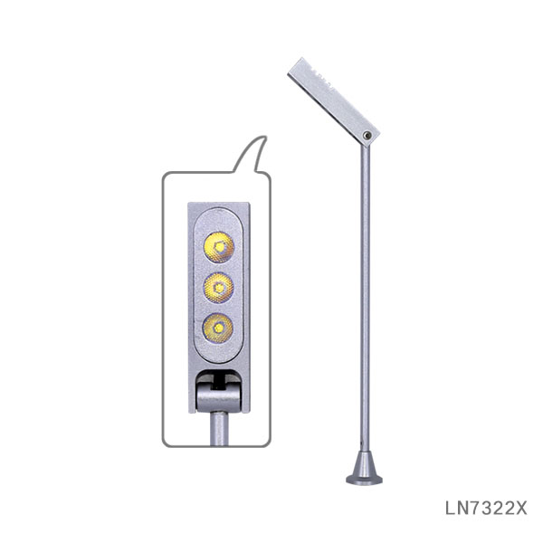 Brightness 1W3W LED standing under cabinet spotlight lamp LN7322X