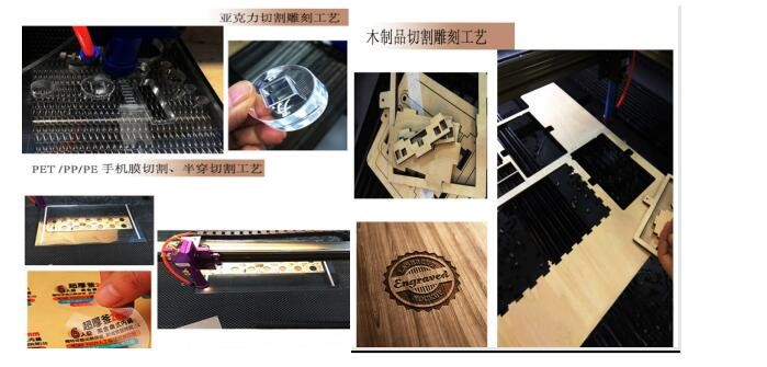 80 100W Rotating 1280 CO2 Laser Cutting Machine for Metal CNC Laser Cutter