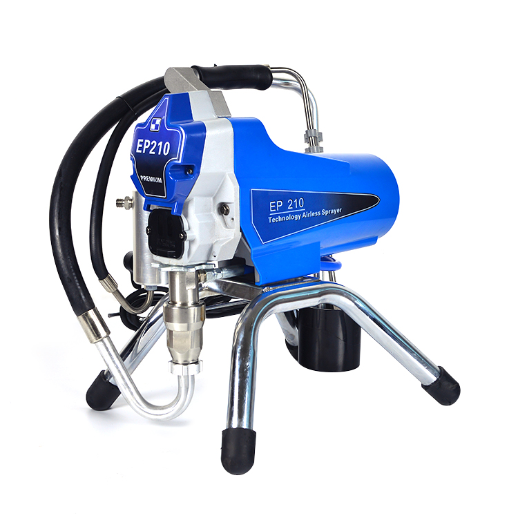 airless paint sprayer with piston pump similar to Graco