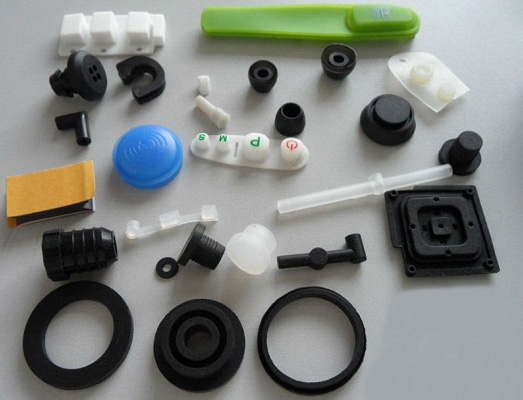 Customized Molded SI Rubber Products Rubber Parts