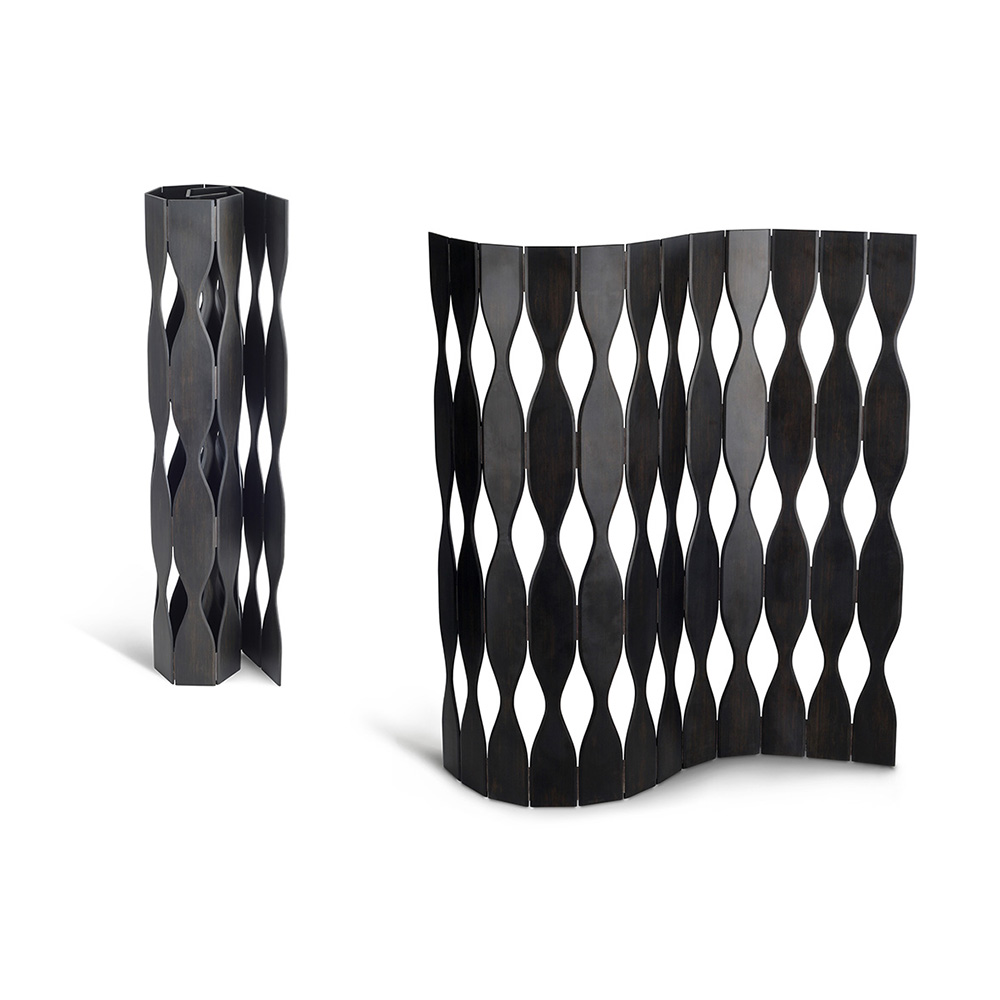 Groovy Solid Bamboo Foldable roll up Screen