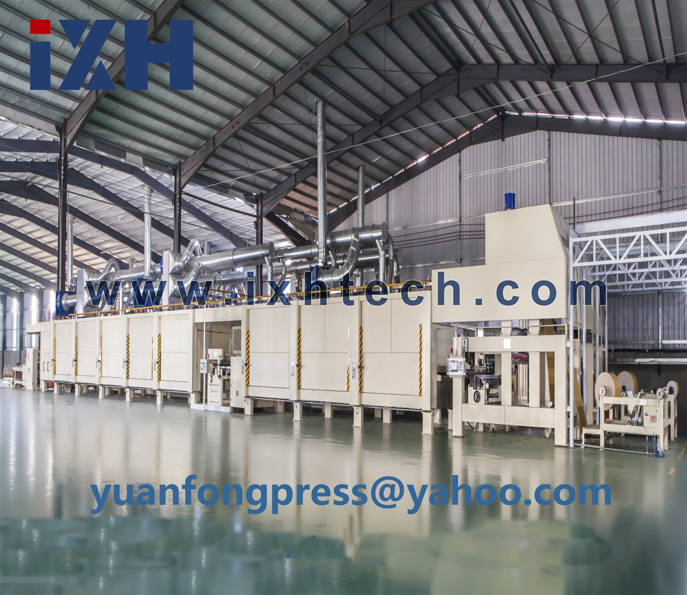 melamine paper impregnated line of top quality and best service