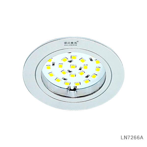 Recessed instal 2W 3W12V led cabinet ligth spotlight LN7266A
