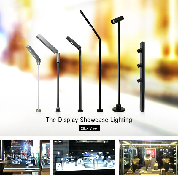 Movable 3W Jewelry Showcase LED Cabinet Light LN7328C