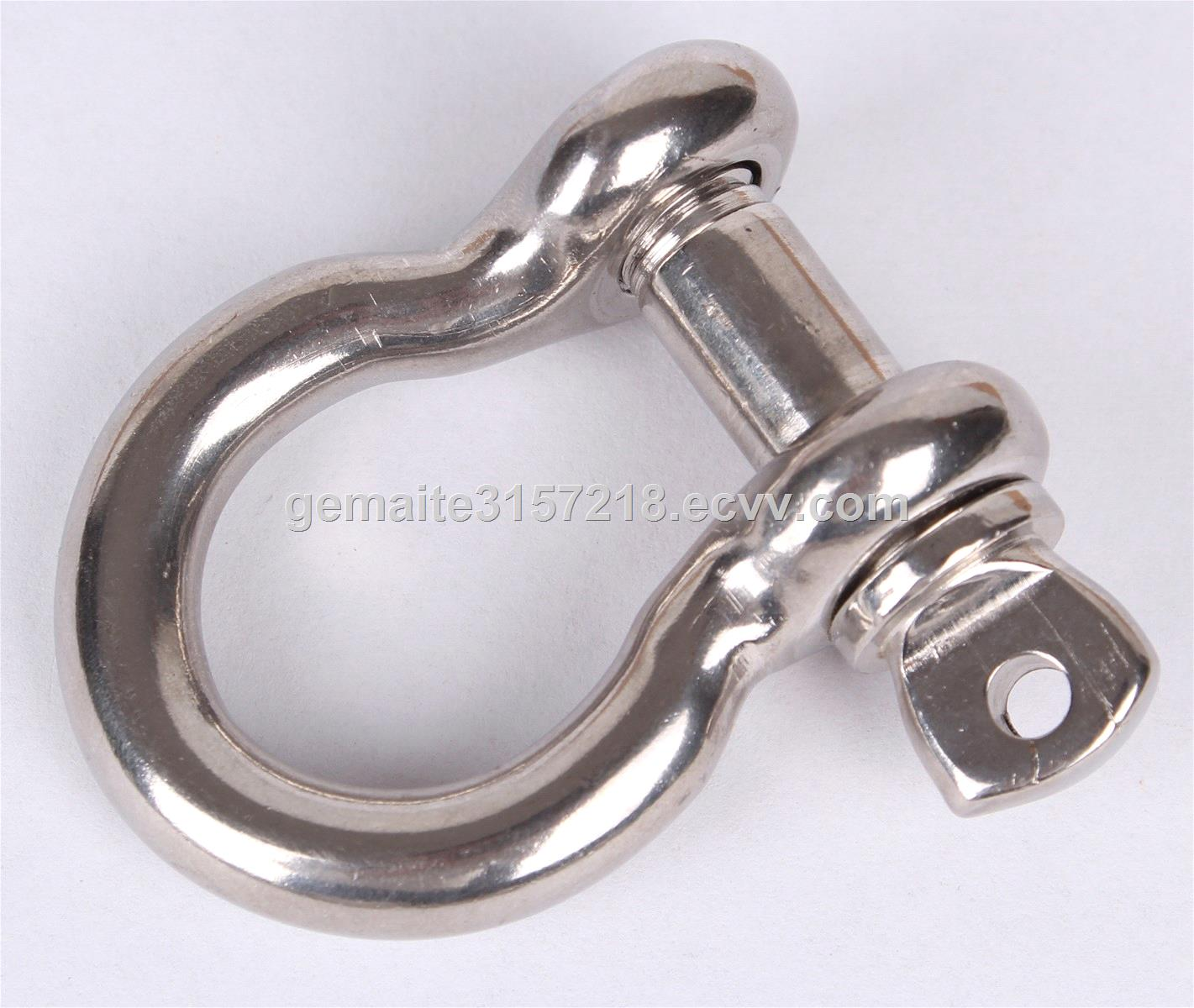 Stainless Steel ShackleAll kinds and size of stainless steel 316 and 304 Shackle