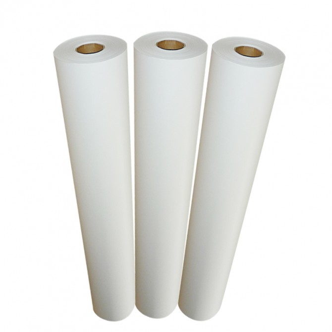 50gsm70gsm90gsm100gsm sublimation printing paper heat transfer printing paper roll