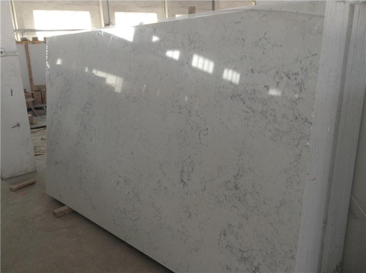 Volakas White Engineered Quartz Slab