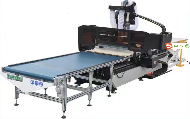 CNC Nesting Process Center CNC Router Machine