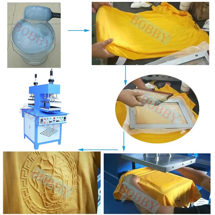 WenTao TShirt Printing Machine Garment Heat Embossing Machine