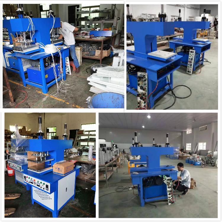 WenTao Hydraulic Fabric Heat Press 3d Embossing Machine