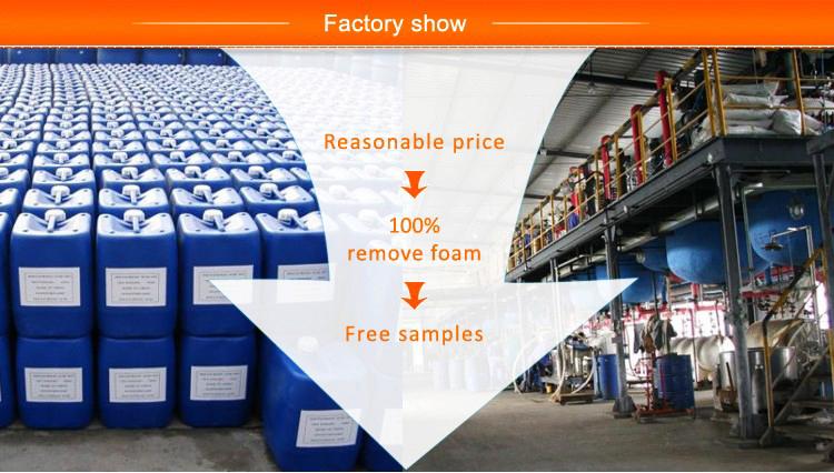 Best Price Defoamer industrial chemicals textile sewage treatment