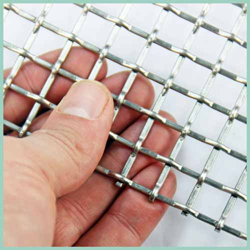 Stainless steel wire meshcrimped wirechain linkgabion meshdutch wovennickwire