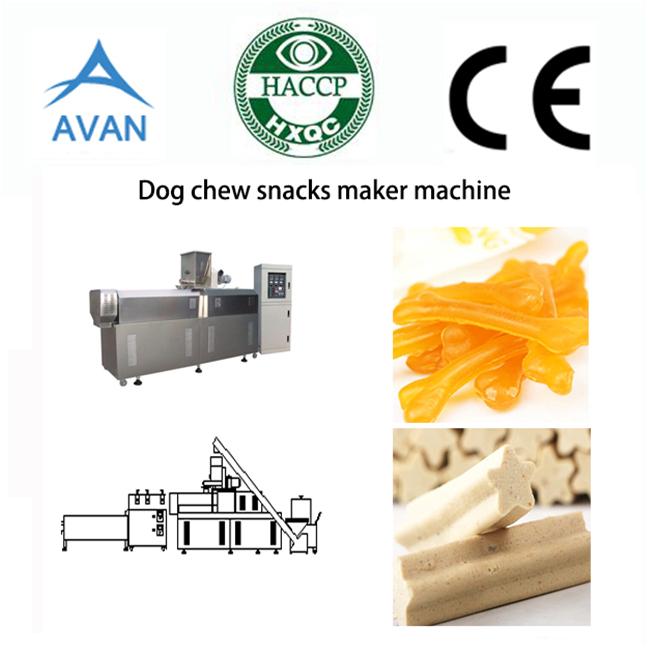 Dog food chew pet chow machine line